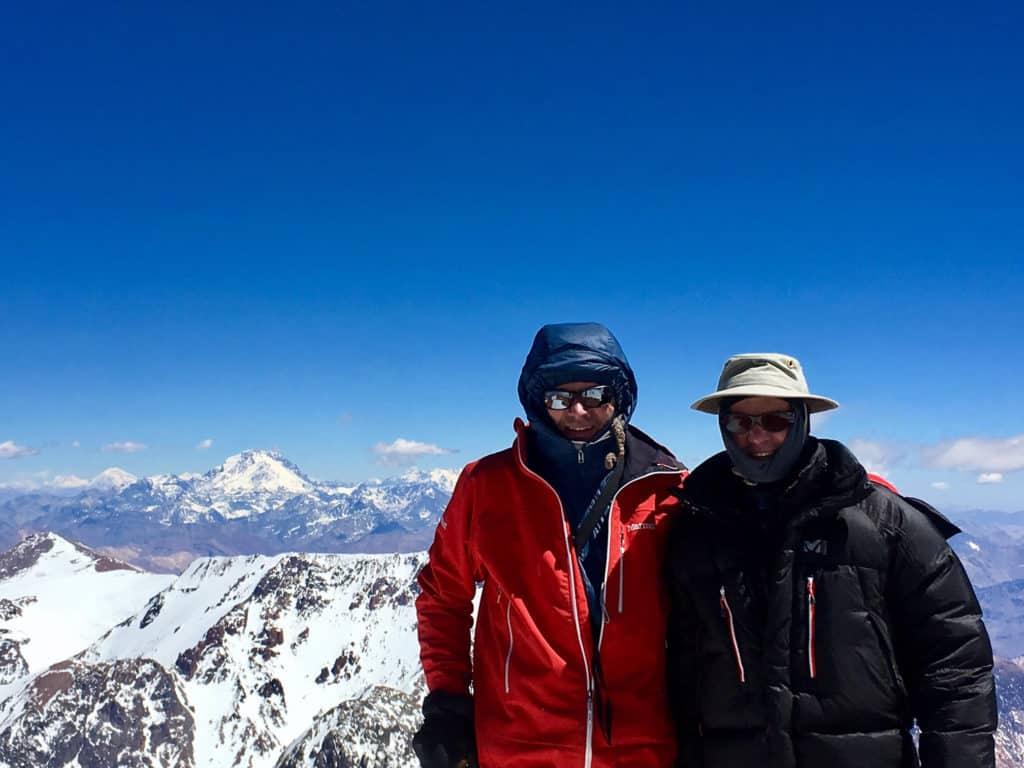 Mercedario Summit view