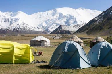 Razdelnaya summit mountaineering in Pamir 14