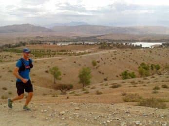 Agafay Desert trail running tour near Marrakech