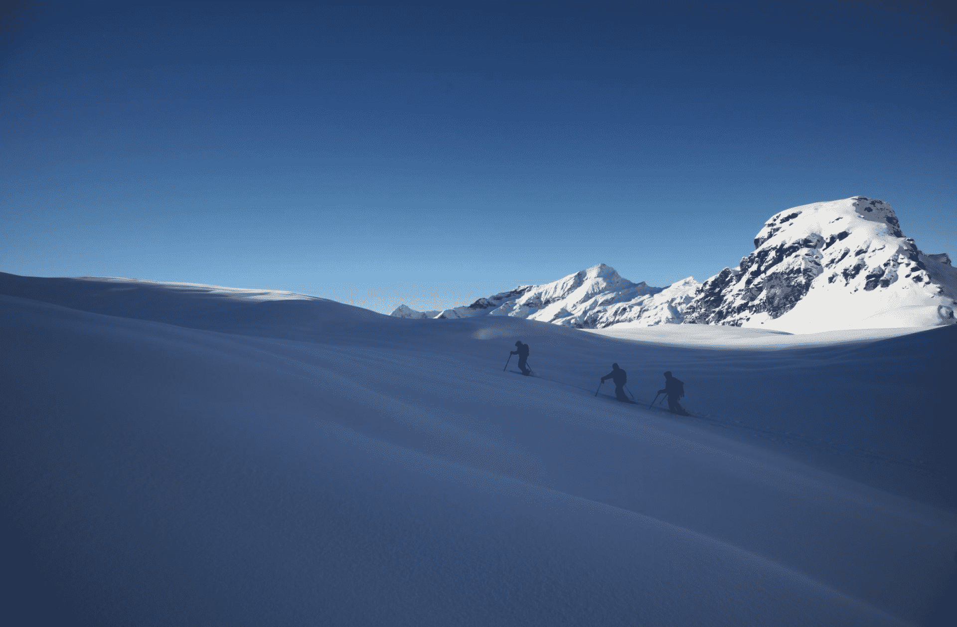 4-day freeride and freerando tour in Gressoney