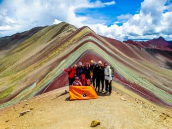Rainbow Mountain full day hiking tour