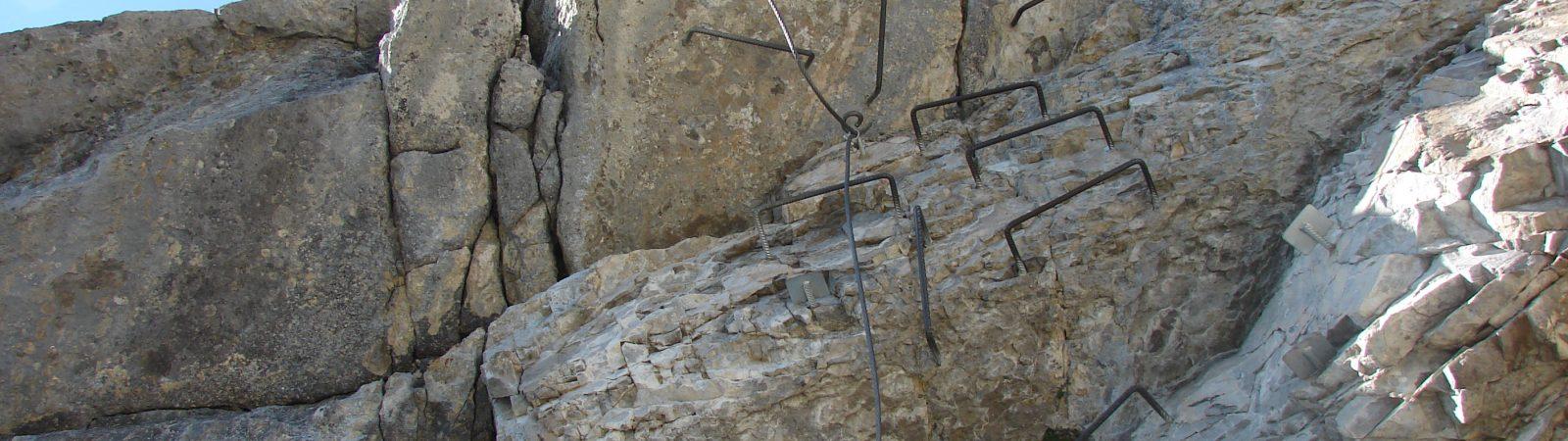 Via Ferrata tours in Chamonix
