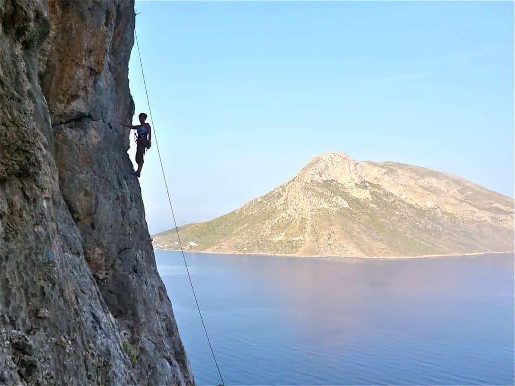 Rock climbing tour on Kalymnos Island