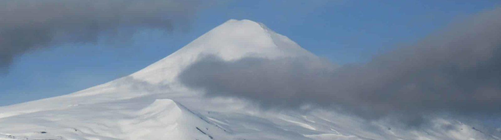 8-day ski tour on Chile's volcanoes