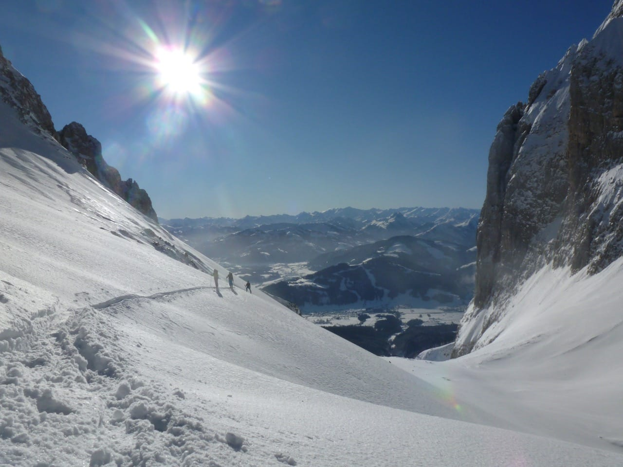 Kitzbühel Freeride ski with a guide
