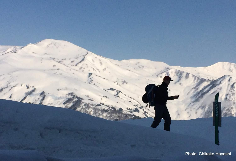 6-day backcountry skiing in the Hakuba Valley