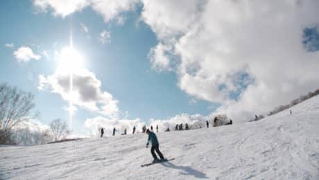 Backcountry ski safari in Hokkaido
