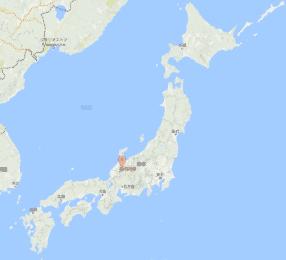 Shirakawago Location