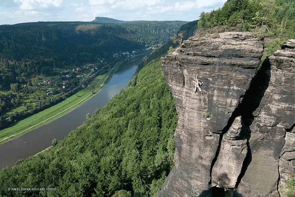 Elbe (Labak) guided sandstone climbing