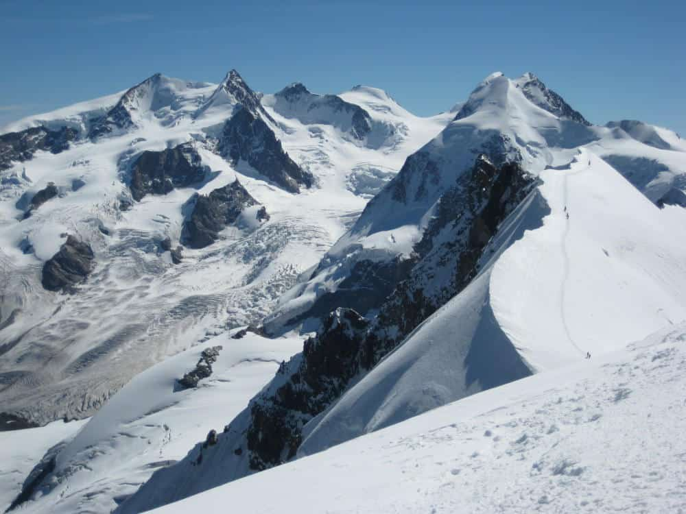 Monte Rosa summer guided tour