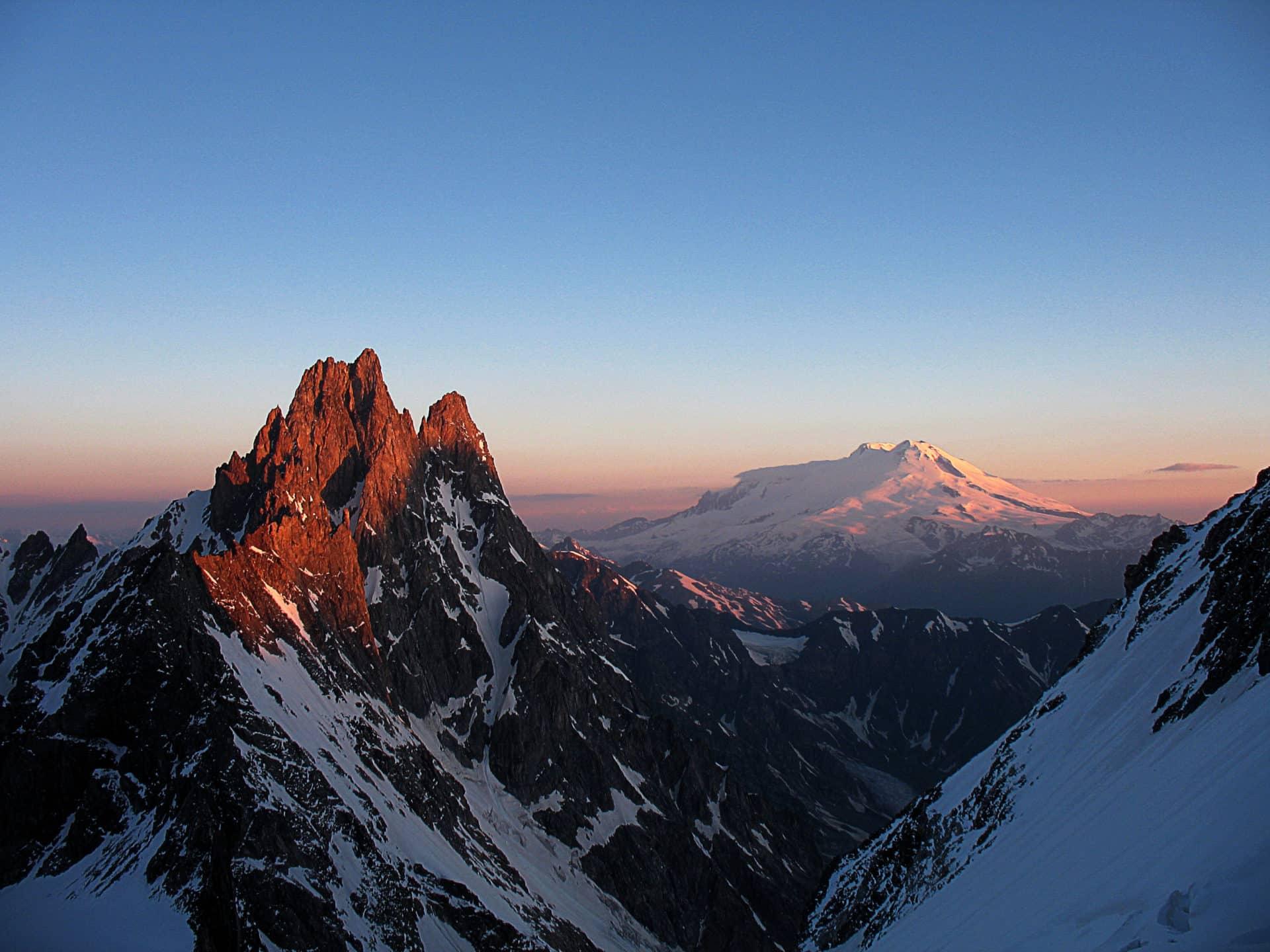 Mt Elbrus Ascent from Terskol. 6-day trip. IFMGA leader