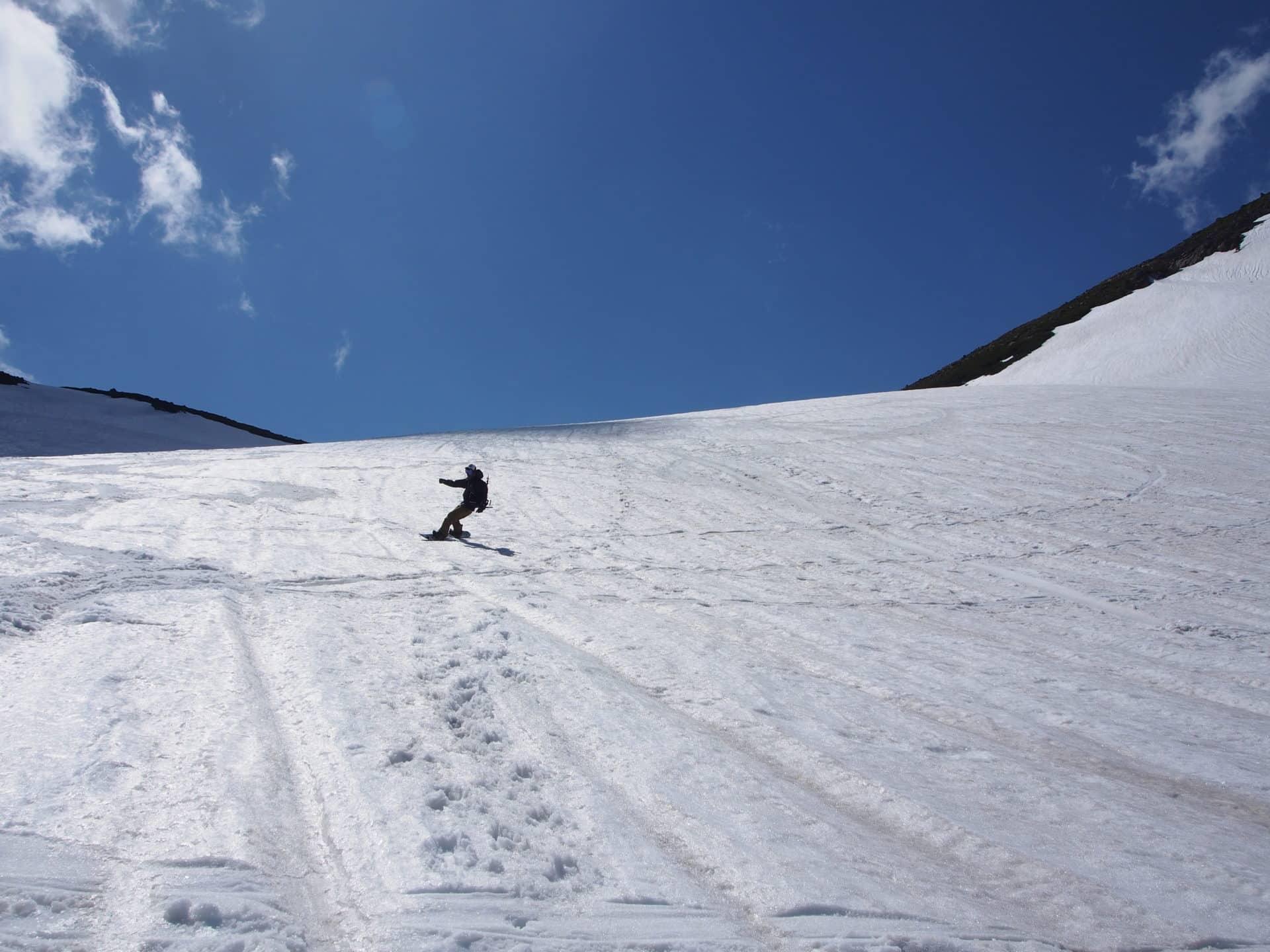 1-day Backcountry Ski Tour in Mt Norikura