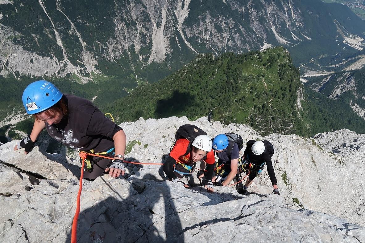 Klettersteig Near Me : Kaiser max klettersteig mit bergführer begehen