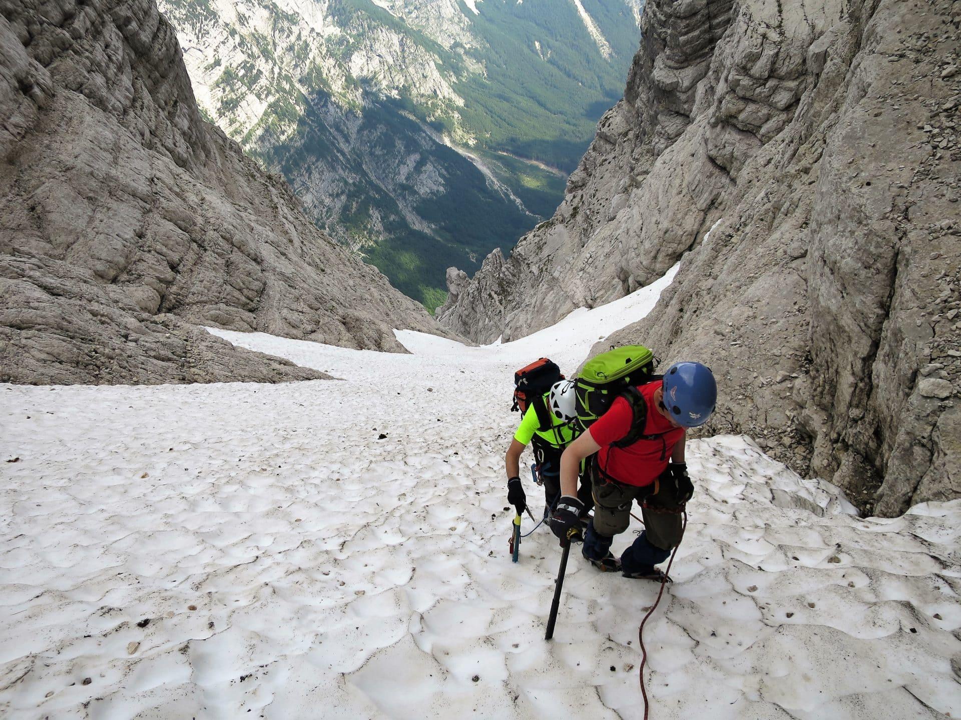 Summer alpine climbing course in Slovenia, level 2