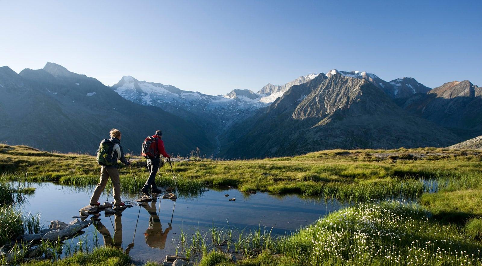 6-day hiking tour in Stubai Valley