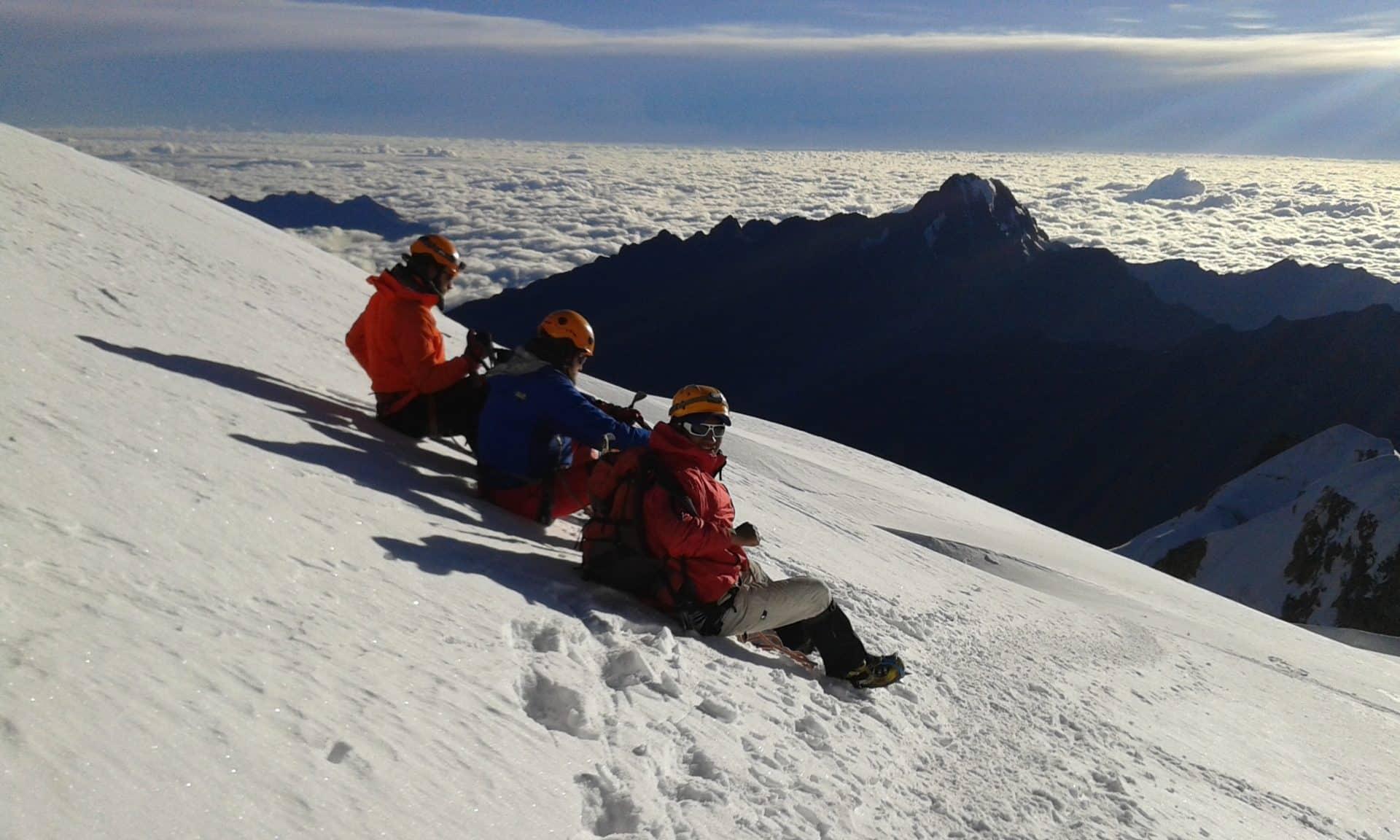 Huayna Potosi 3-day ascent