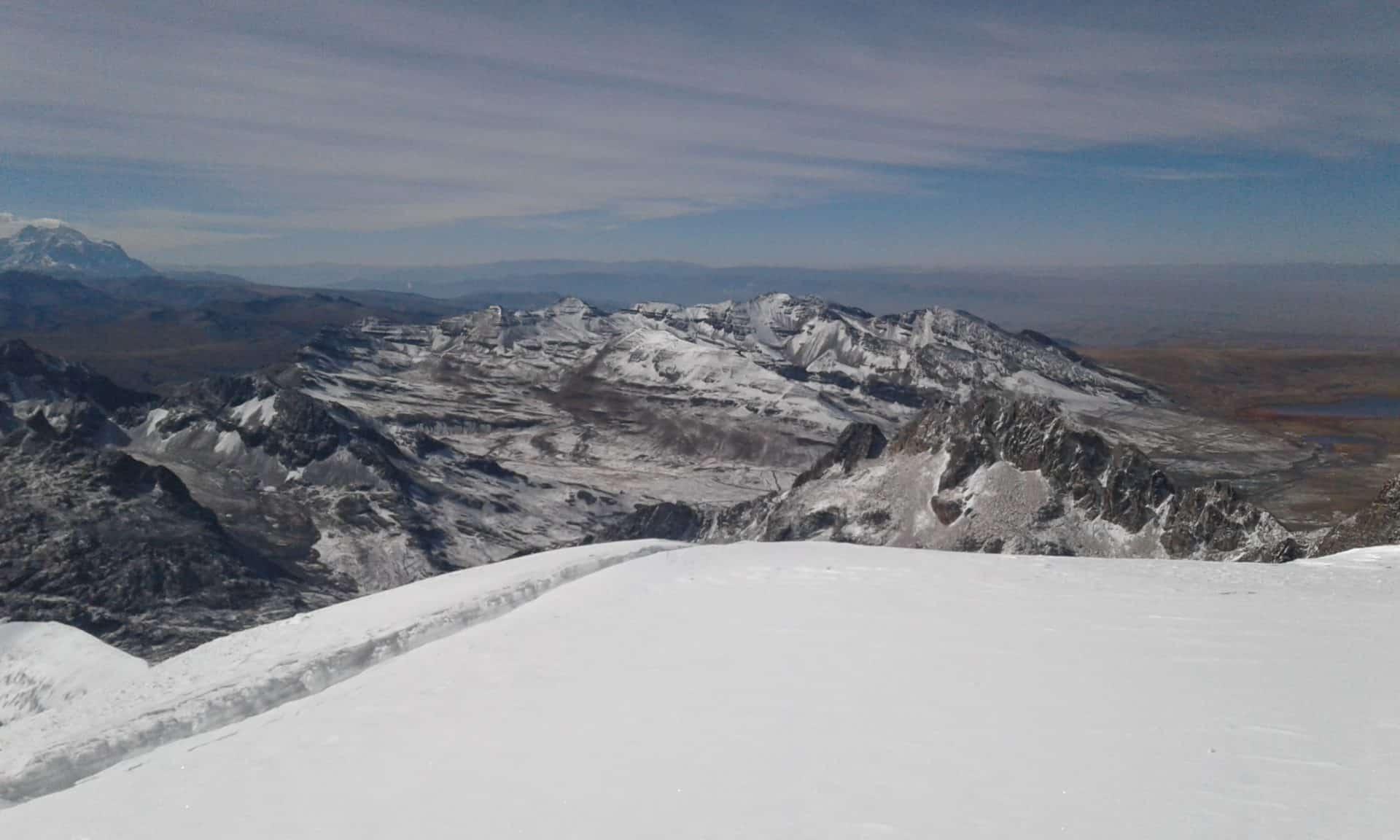 Nevado Sajama ascent (6542m), Bolivia