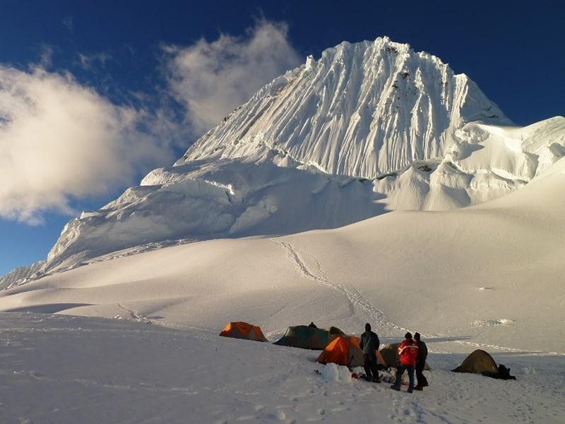 Alpamayo Peak: 7-day guided climbing expedition