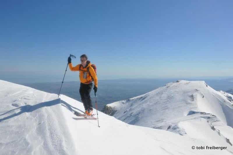 Abruzzo ski touring week with sea view