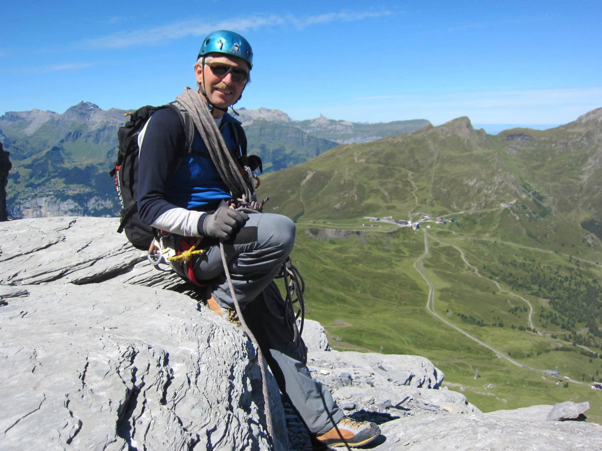 Albrecht Wandfluh IFMGA guide