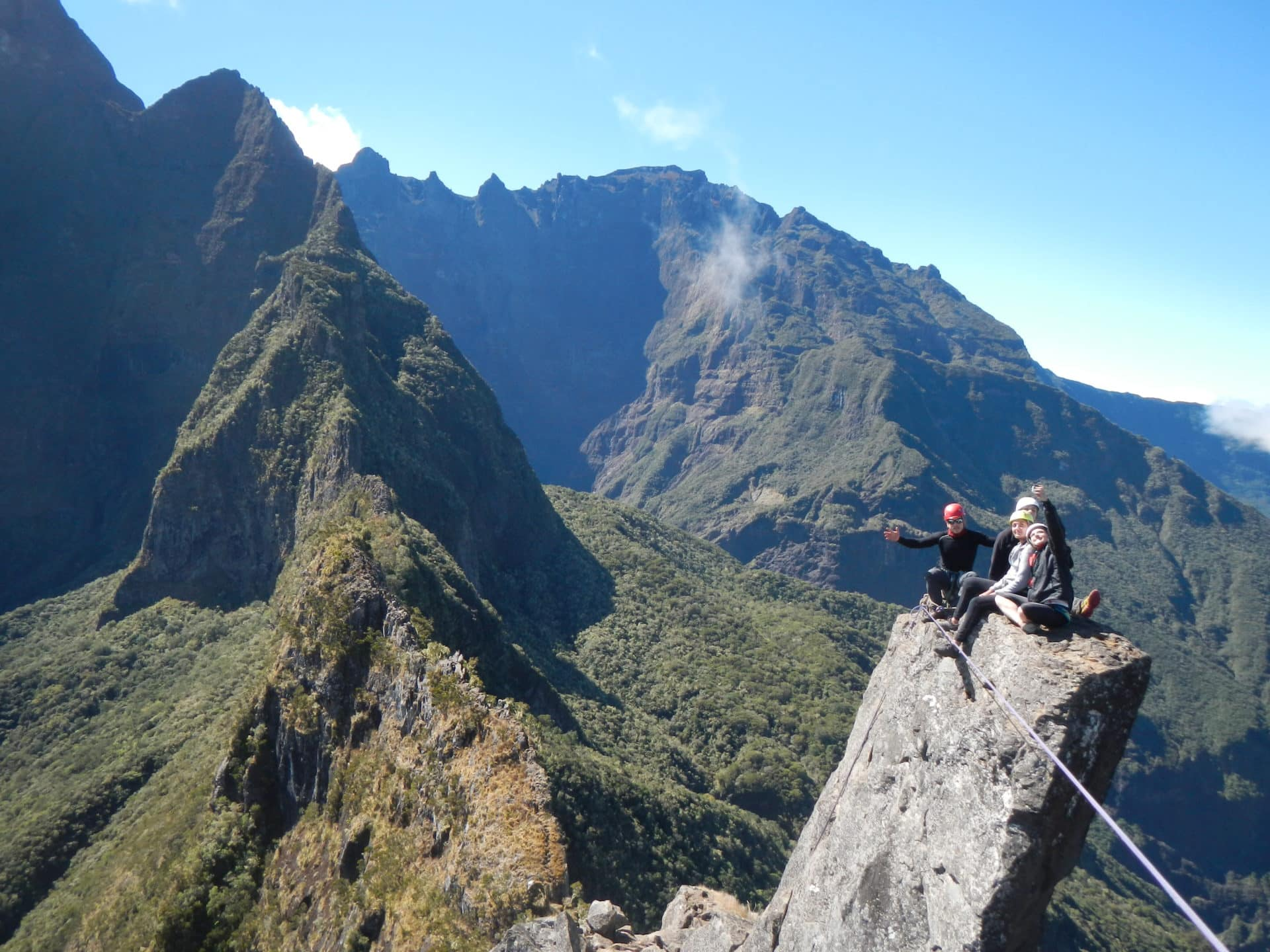 Piton de Sucre Guided Ascent, Reunion Island