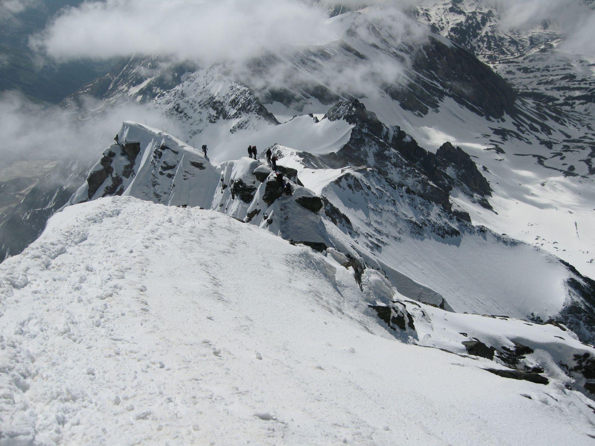 Grossglockner summit 2-day ski touring ascent