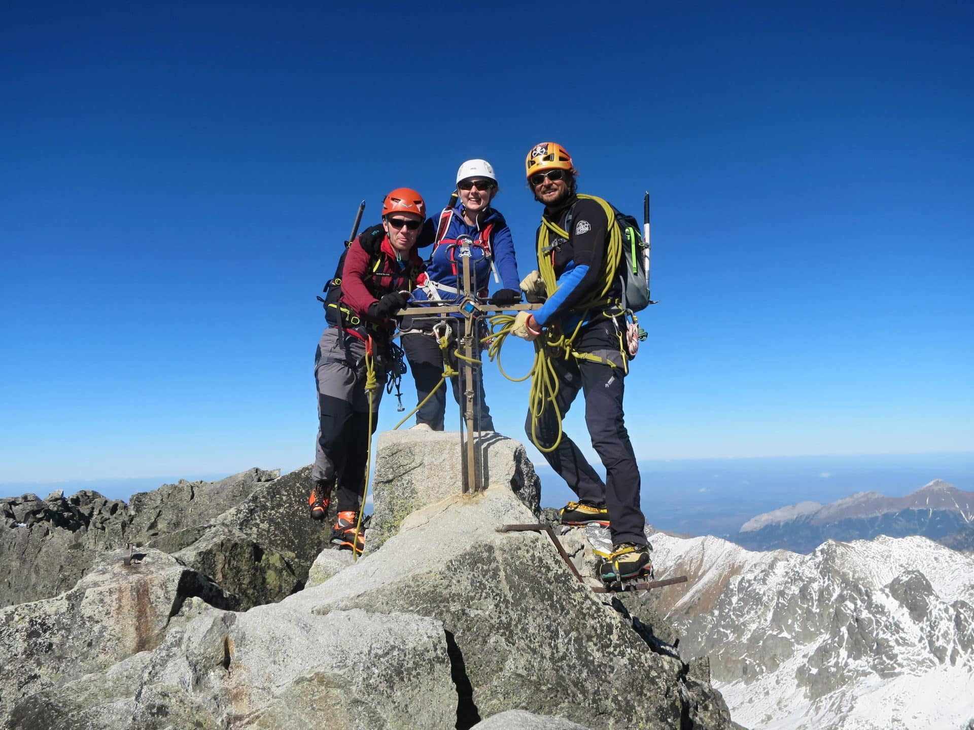 Climbing Gerlach Peak in the High Tatras