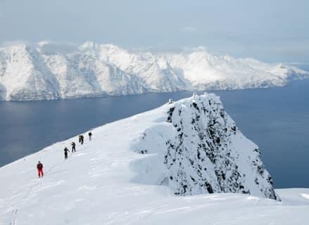 Lyngen Alps ski touring week, Norway