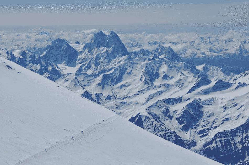 Mount Elbrus 8-day ski touring trip, Caucasus
