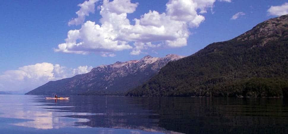 Nahuel Huapi Lake 3-day kayak adventure