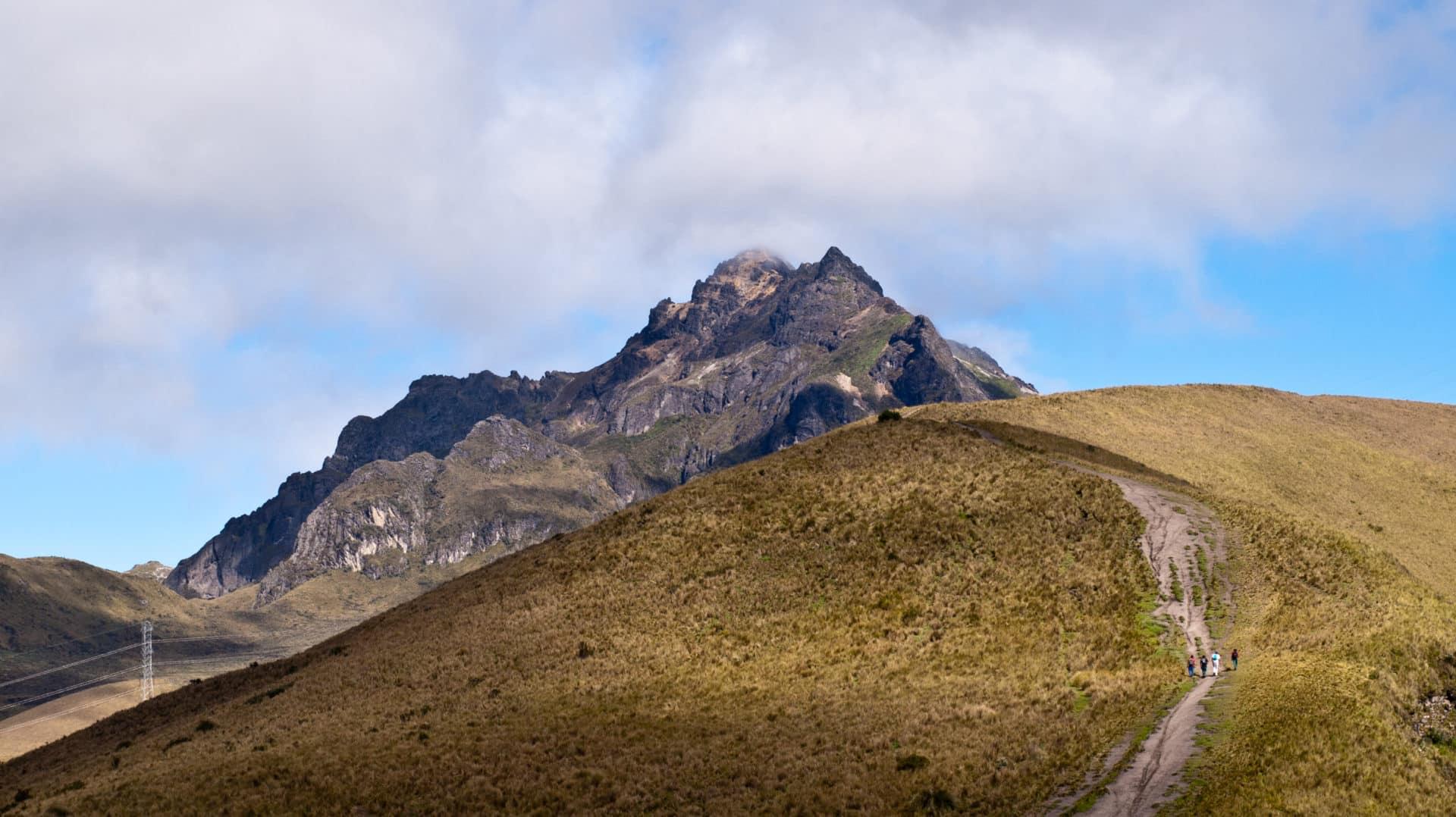 Pichincha Volcano 2-day guided traverse in Ecuador