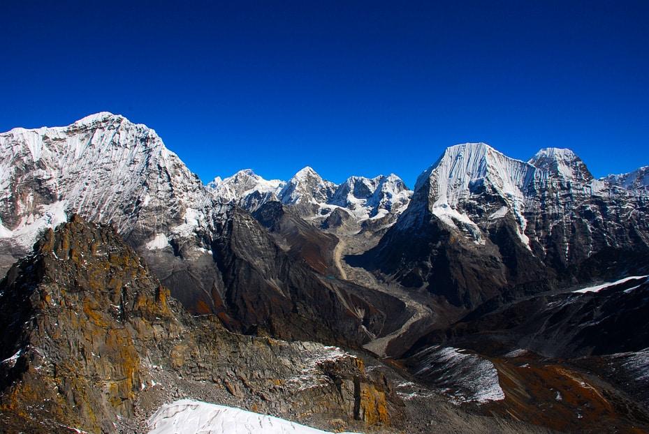 Rolwaling valley trek and Parchamo peak, Nepal