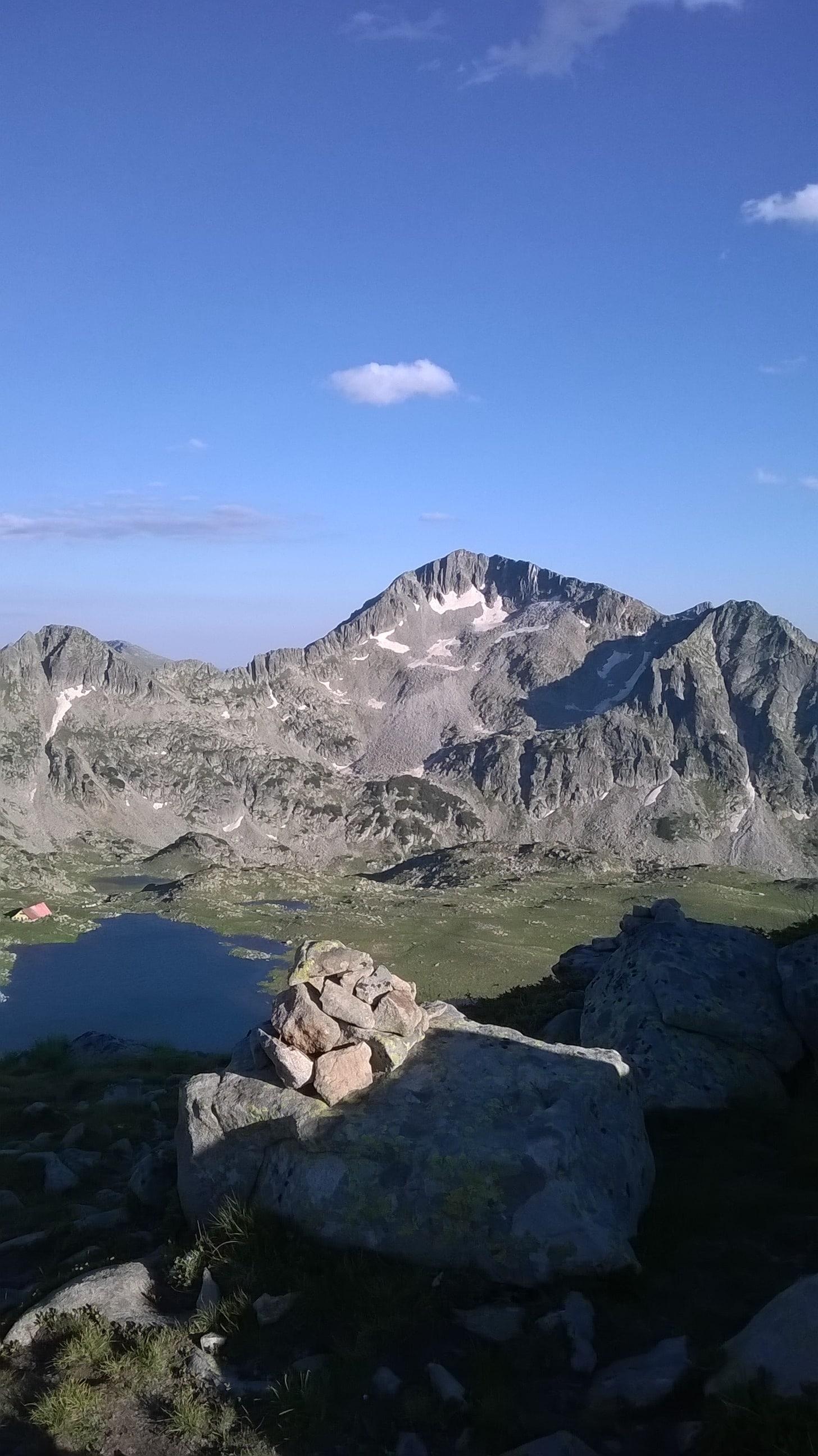Tevno Ezero and the surrounding peaks, Pirin mountains