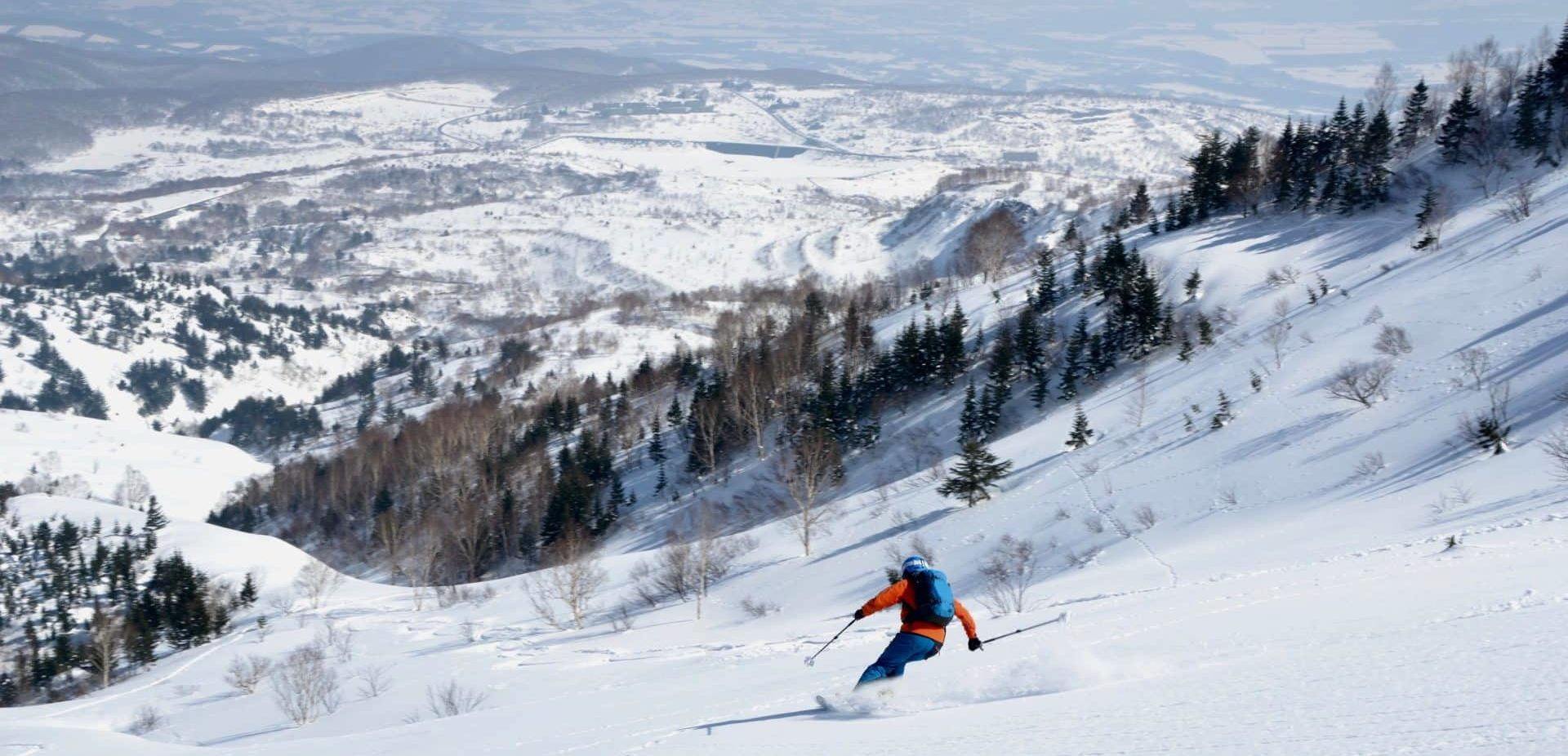 3-day backcountry skiing in Tohoku, northern Honshu