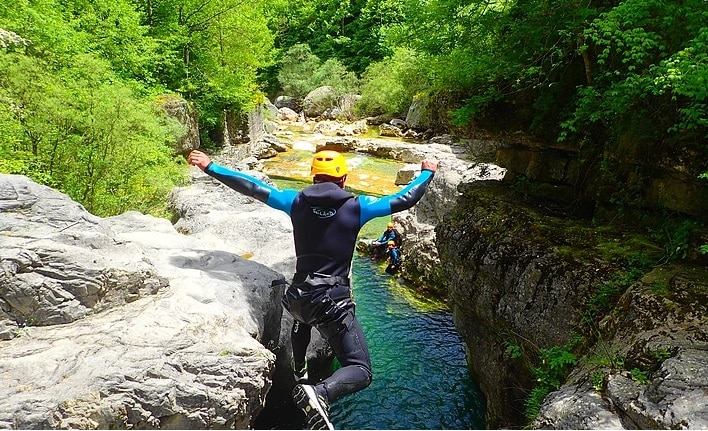 Viandico Canyon Pyrenees Guided Day Trip