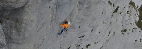 big wall climbing course