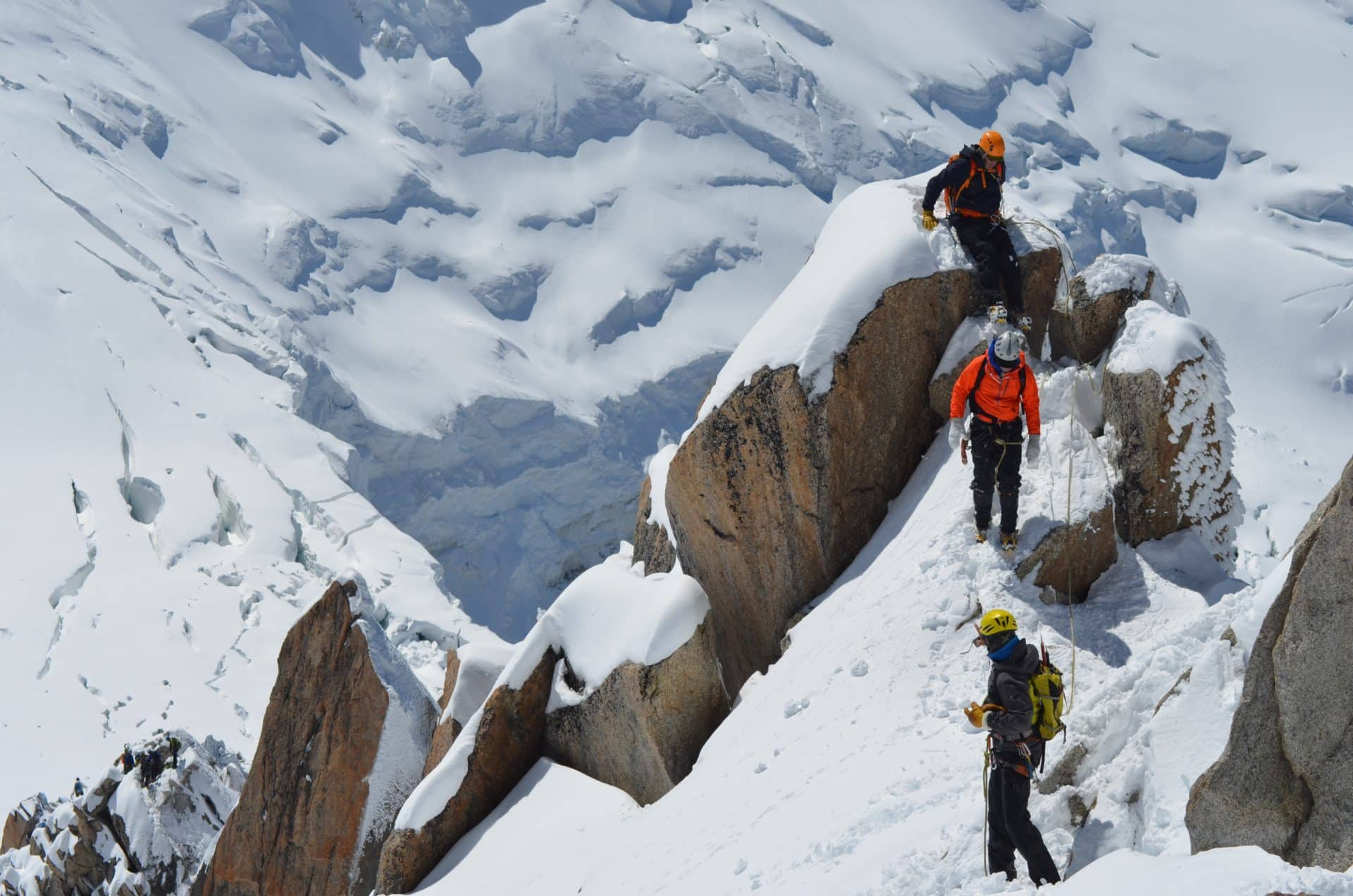 Mont Blanc 5-day guided ascent
