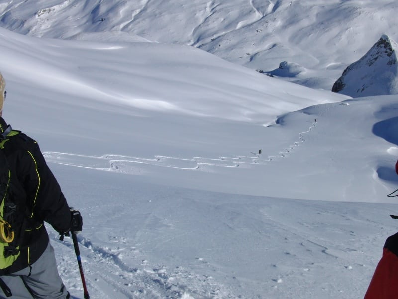 Beginners' ski tour around Heidelberger Hut