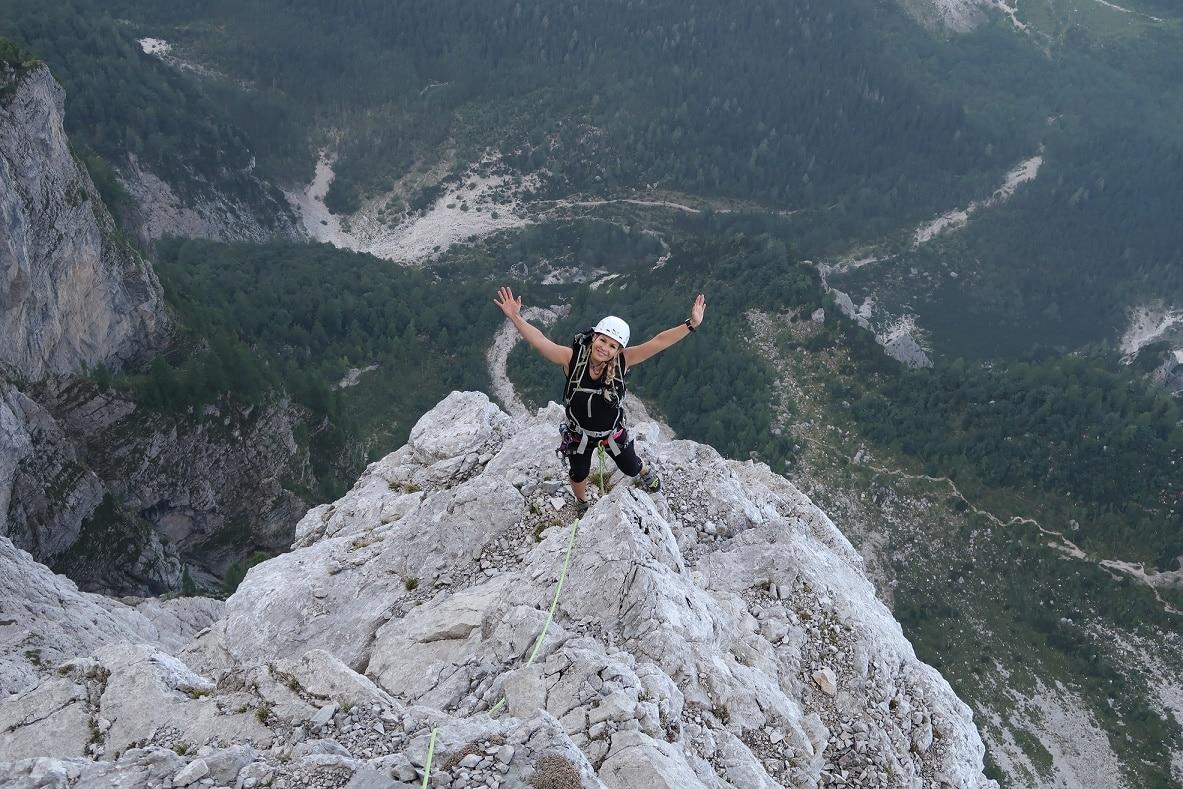 Julian Alps rock climbing routes