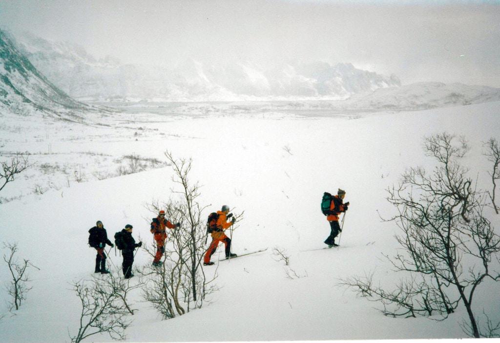 8-day ski tour in Lofoten, Norway