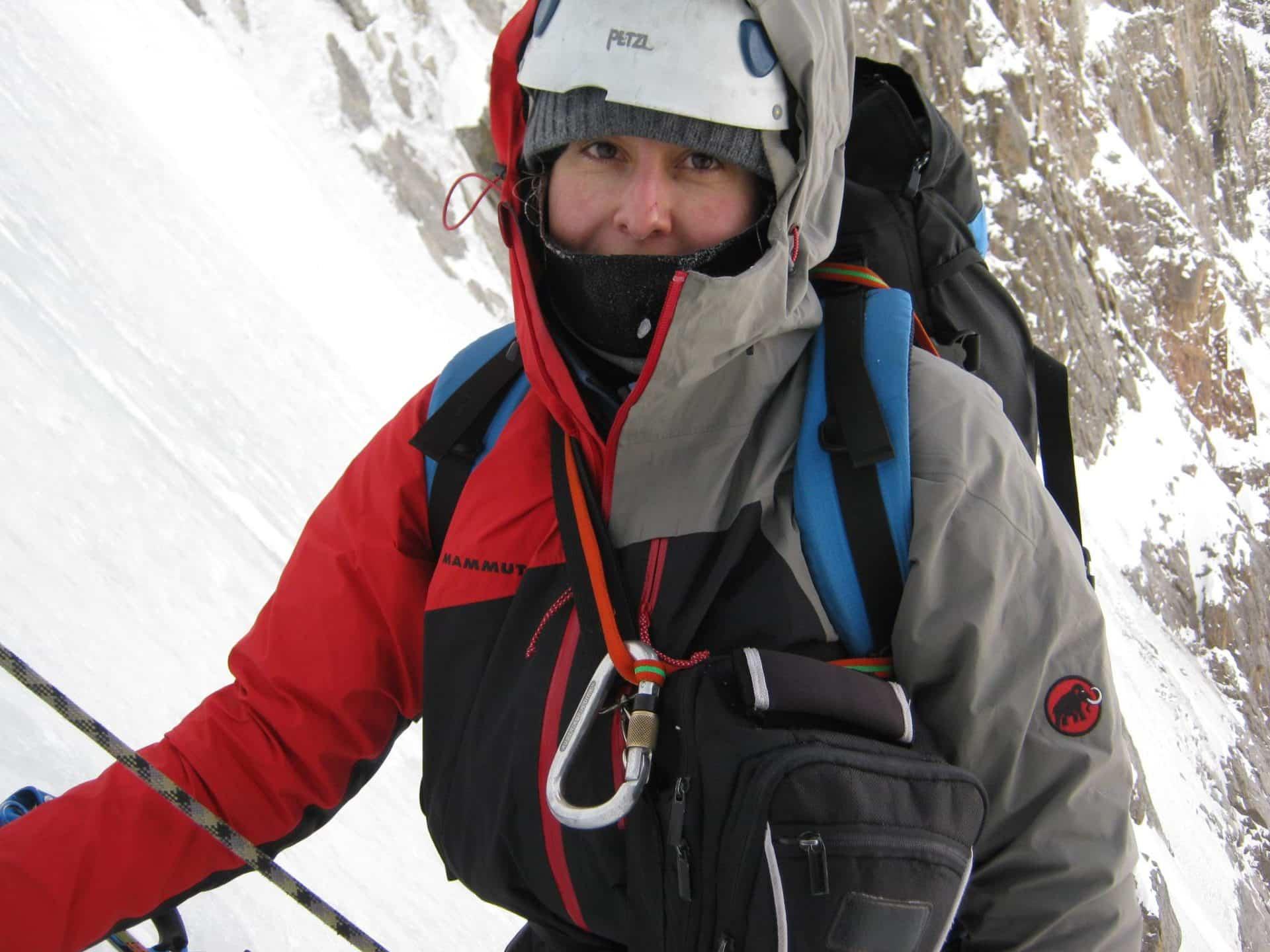 Anastasiya Cheremnyh KMGA mountain guide