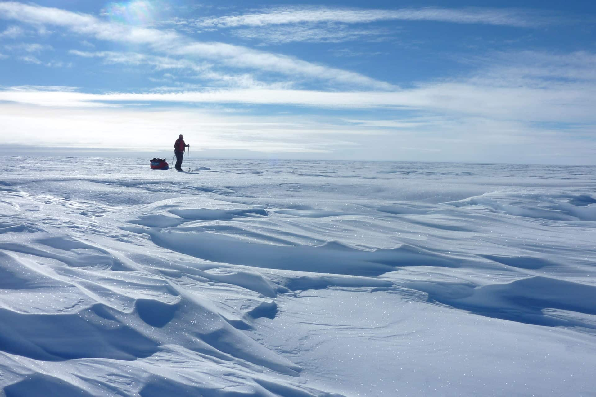 Antarctica 17-day ski tour with a guide