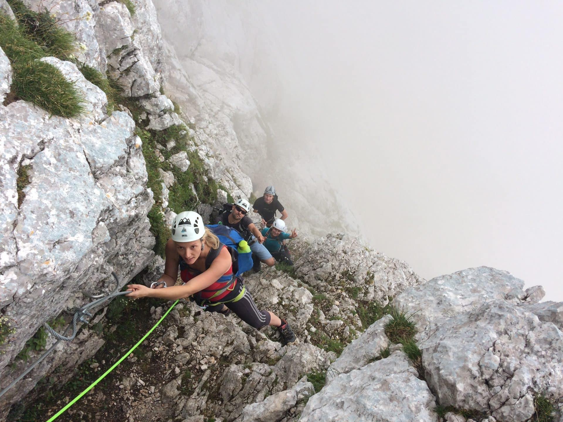 Mt Mangart via ferrata, Italian side