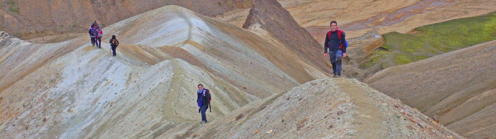 Iceland and Vestmann Islands trekking tour