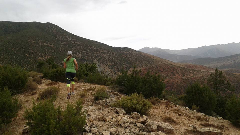 Trail-running in Morocco