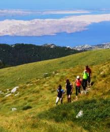 Velebit hiking