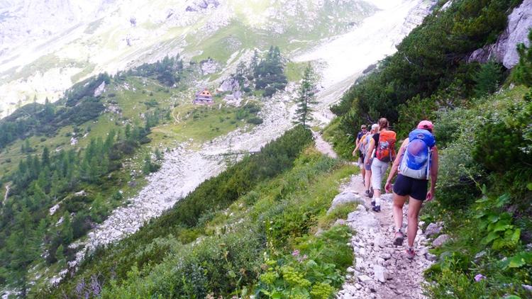8-day Julian Alps haute route trek