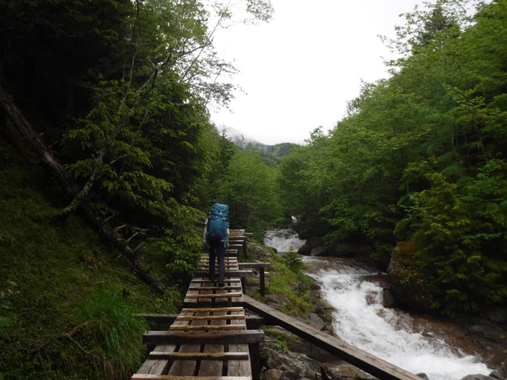 Mt Yatsugatake trek