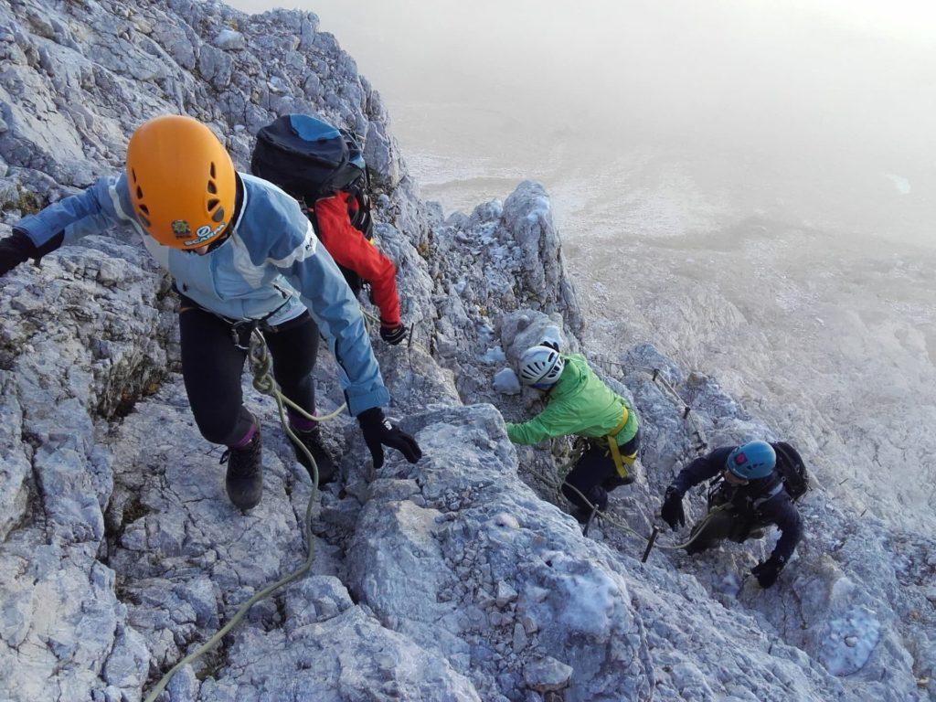 Equipment to climb Triglav