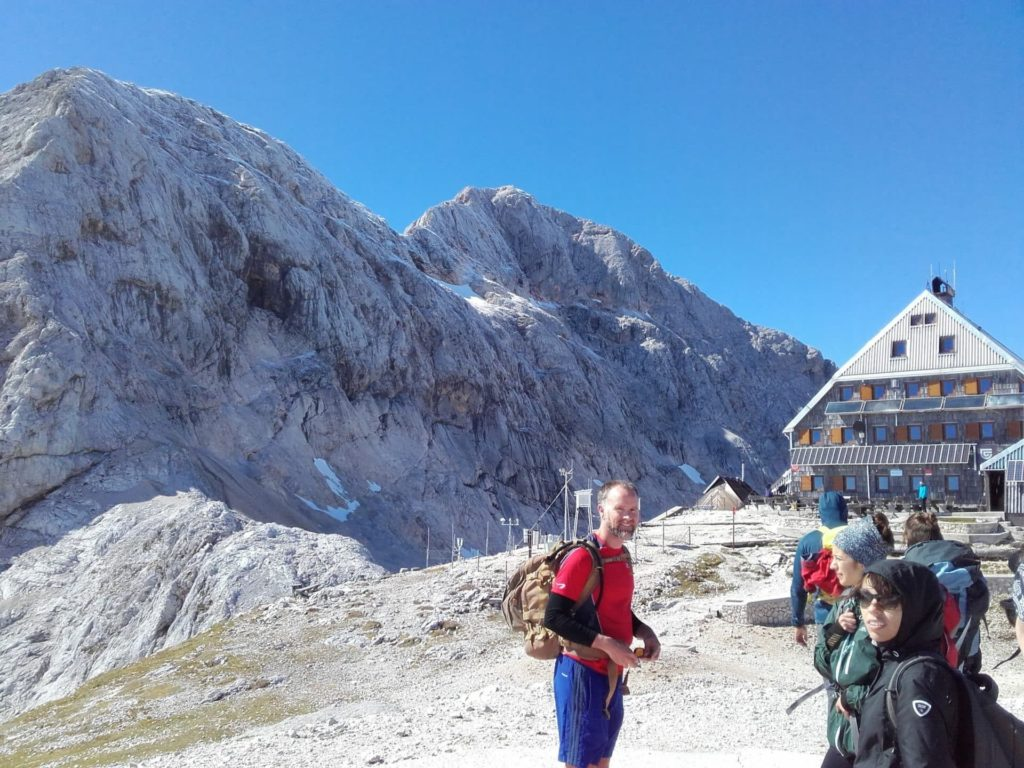 Mount Triglav, mountain hut